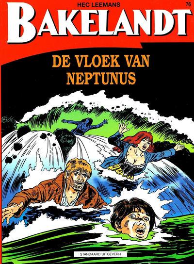 Cover for Bakelandt (Standaard Uitgeverij, 1993 series) #76 - De vloek van Neptunes