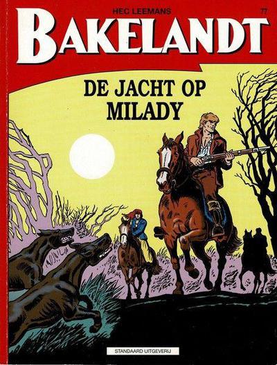 Cover for Bakelandt (Standaard Uitgeverij, 1993 series) #77