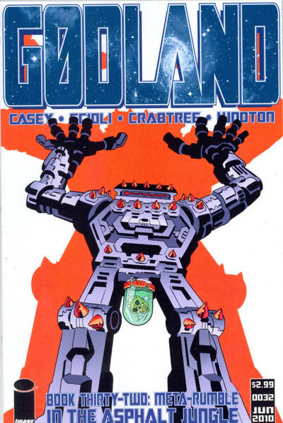 Cover for Godland (Image, 2005 series) #32