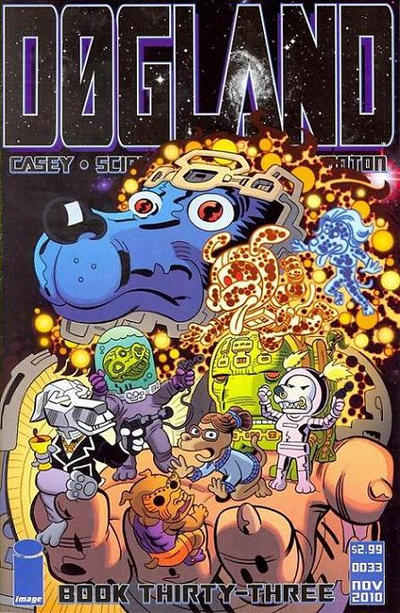 Cover for Godland (Image, 2005 series) #33