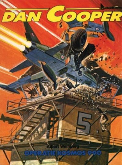 Cover for Dan Cooper (Edi-3-BD, 1980 series) #26 - Operatie Kosmos 990