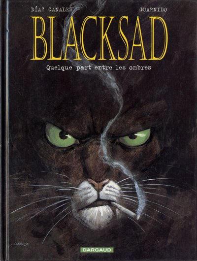 Cover for Blacksad (Dargaud éditions, 2000 series) #1 - Quelque part entre les ombres