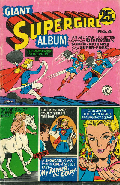 Cover for Giant Supergirl Album (K. G. Murray, 1970 series) #4