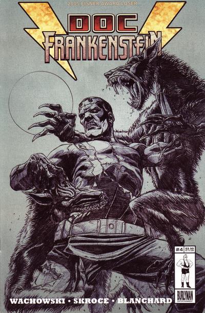 Cover for Doc Frankenstein (Burlyman Entertainment, 2004 series) #4 [Regular Cover]
