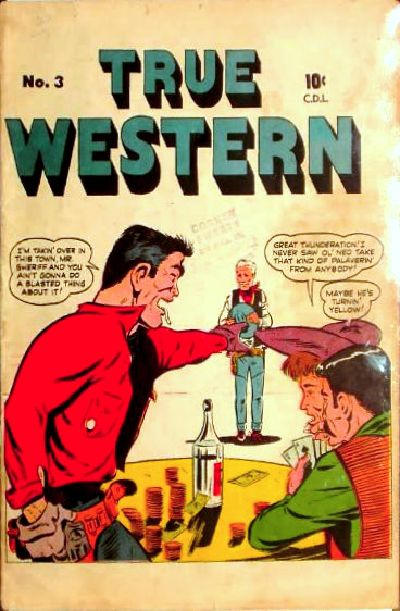 Cover for True Western (Bell Features, 1950 series) #3