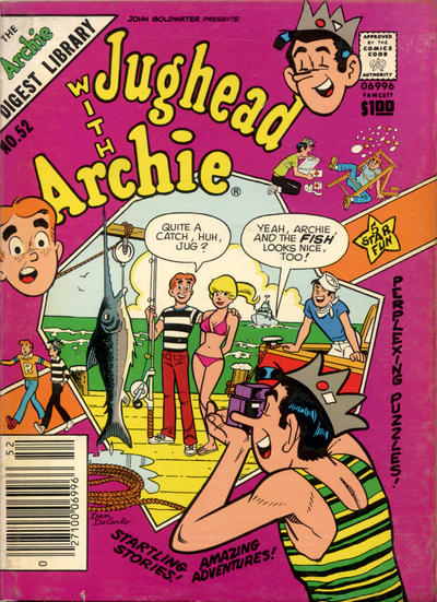 Cover for Jughead with Archie Digest (Archie, 1974 series) #52