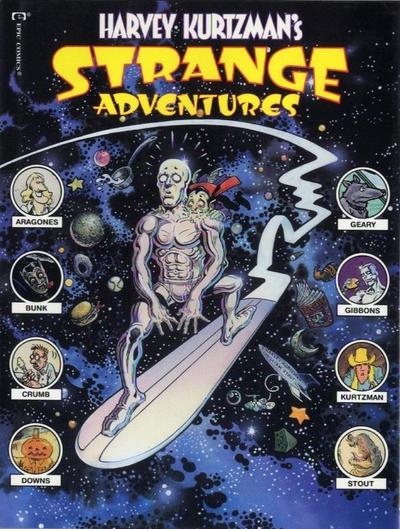 Cover for Harvey Kurtzman's Strange Adventures (Marvel, 1990 series)