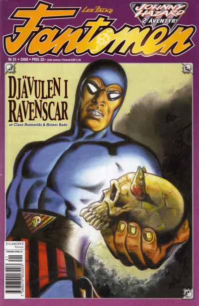 Cover for Fantomen (Egmont, 1997 series) #21/2008