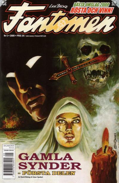 Cover for Fantomen (Egmont, 1997 series) #5/2009