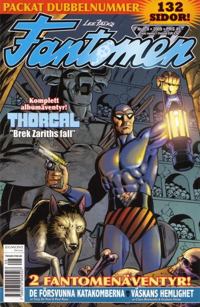Cover for Fantomen (Egmont, 1997 series) #8-9/2009