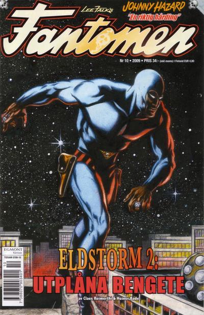 Cover for Fantomen (Egmont, 1997 series) #10/2009