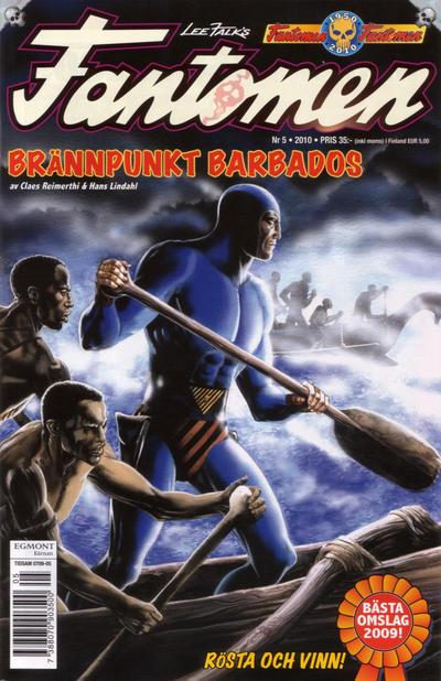 Cover for Fantomen (Egmont, 1997 series) #5/2010