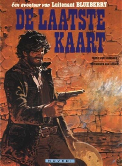 Cover for Luitenant Blueberry (Novedi, 1982 series) #24 - De laatste kaart