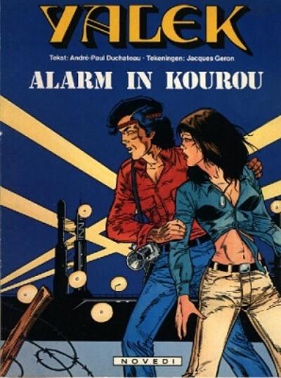 Cover for Yalek (Novedi, 1981 series) #6 - Alarm in Kourou