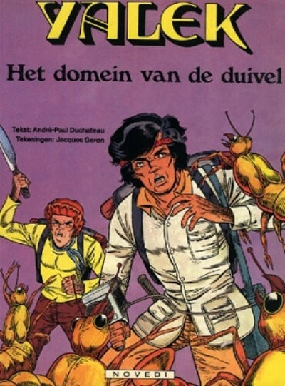Cover for Yalek (Novedi, 1981 series) #8 - Het domein van de duivel