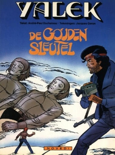 Cover for Yalek (Novedi, 1981 series) #9 - De gouden sleutel