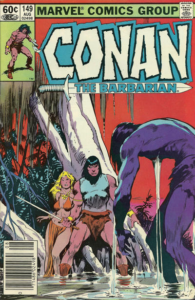 Cover for Conan the Barbarian (Marvel, 1970 series) #149 [Newsstand Edition]
