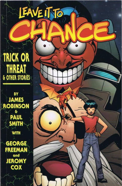 Cover for Leave It to Chance (Image, 2002 series) #2 - Trick or Treat and Other Stories