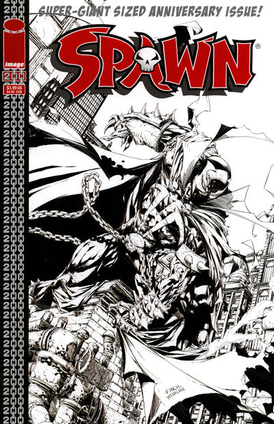 Cover for Spawn (Image, 1992 series) #200 [Cover by Todd McFarlane]