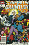 Cover Thumbnail for The Infinity Gauntlet (1991 series) #6 [Newsstand]