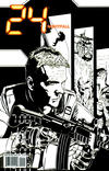 Cover for 24: Nightfall (IDW, 2006 series) #5 [Joe Corroney Sketch Cover]