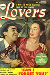 Cover Thumbnail for Lovers (1949 series) #29 [August date on cover]