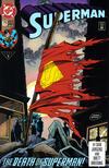 Cover Thumbnail for Superman (1987 series) #75 [Third Print Variant Blue Logo]