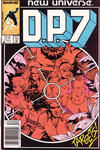 Cover for D.P. 7 (Marvel, 1986 series) #2 [Newsstand]