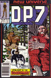 Cover for D.P. 7 (Marvel, 1986 series) #10 [Newsstand Edition]