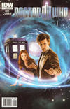 Cover for Doctor Who (IDW, 2011 series) #1 [Cover B]