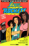 Cover for Ten Years of Love and Rockets (Fantagraphics, 1992 series)