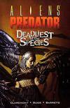 Cover for Aliens / Predator: Deadliest of the Species (Dark Horse, 1997 series)