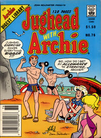 Cover Thumbnail for Jughead with Archie Digest (Archie, 1974 series) #76 [Canadian]