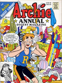Cover Thumbnail for Archie Annual Digest (Archie, 1975 series) #61 [Direct]