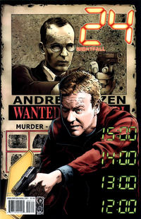 Cover Thumbnail for 24: Nightfall (IDW, 2006 series) #3 [Joe Corroney Cover]