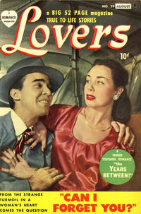 Cover Thumbnail for Lovers (Marvel, 1949 series) #29 [August date on cover]