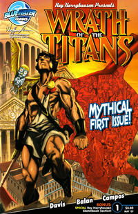 Cover Thumbnail for Wrath of the Titans (Bluewater / Storm / Stormfront / Tidalwave, 2007 series) #1 [Nadir Balan Cover B]