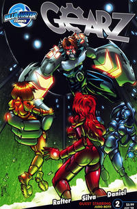 Cover Thumbnail for Gearz (Bluewater / Storm / Stormfront / Tidalwave, 2008 series) #2