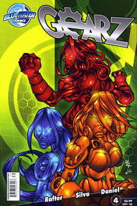 Cover Thumbnail for Gearz (Bluewater / Storm / Stormfront / Tidalwave, 2008 series) #4