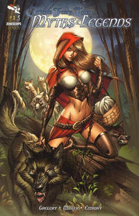 Cover Thumbnail for Grimm Fairy Tales Myths & Legends (Zenescope Entertainment, 2011 series) #1 [Cover A - J. Scott Campbell]