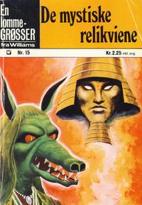 Cover Thumbnail for Lomme-Grøsser (Illustrerte Klassikere / Williams Forlag, 1973 series) #15