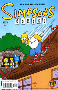 Cover Thumbnail for Simpsons Comics (Bongo, 1993 series) #174