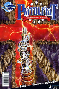 Cover Thumbnail for Pistolfist: Revolutionary Warrior (Bluewater / Storm / Stormfront / Tidalwave, 2008 series) #3