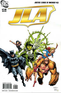 Cover Thumbnail for Justice League of America (DC, 2006 series) #53