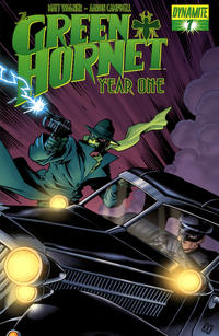 Cover Thumbnail for Green Hornet: Year One (Dynamite Entertainment, 2010 series) #7 [Matt Wagner Cover]