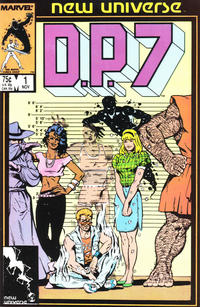 Cover Thumbnail for D.P. 7 (Marvel, 1986 series) #1 [Direct Edition]
