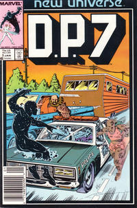 Cover Thumbnail for D.P. 7 (Marvel, 1986 series) #3 [Newsstand]