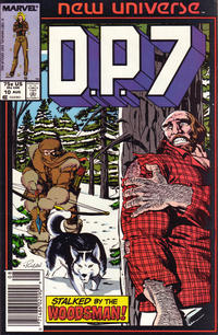 Cover Thumbnail for D.P. 7 (Marvel, 1986 series) #10 [Newsstand]