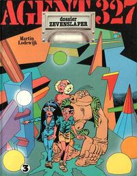 Cover Thumbnail for Agent 327 (Oberon, 1977 series) #3 - Dossier Zevenslaper [Eerste druk (1978)]