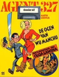 Cover Thumbnail for Agent 327 (Oberon, 1977 series) #11 - De ogen van Wu Manchu